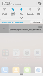 Huawei Ascend Y550 - MMS - Automatische Konfiguration - 1 / 1