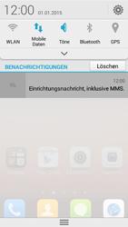 Huawei Ascend Y550 - MMS - Automatische Konfiguration - Schritt 5