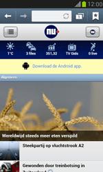 Samsung Galaxy S III Mini - internet - hoe te internetten - stap 11