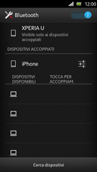 Sony Xperia U - Bluetooth - Collegamento dei dispositivi - Fase 8
