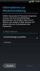 HTC One S - Apps - Konto anlegen und einrichten - 12 / 23