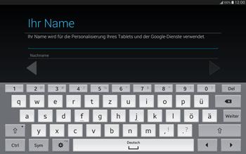 Samsung T805 Galaxy Tab S - Apps - Einrichten des App Stores - Schritt 6