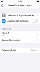 Apple iPhone SE - iOS 13 - E-Mail - Manuelle Konfiguration - Schritt 15
