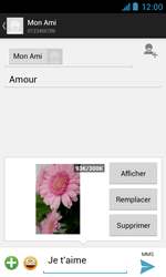 Bouygues Telecom Bs 402 - Contact, Appels, SMS/MMS - Envoyer un MMS - Étape 17