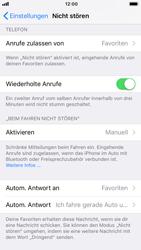 """Apple iPhone 8 - iOS 11 - Nicht stören – Sicheres Fahren – """"Do Not Disturb while Driving"""" aktivieren (für Fahrer) - 9 / 17"""