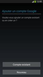 Samsung I9505 Galaxy S IV LTE - Applications - Créer un compte - Étape 4