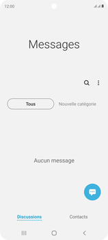 Samsung Galaxy S20 FE - Contact, Appels, SMS/MMS - Envoyer un SMS - Étape 4
