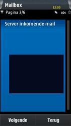 Samsung I8910 HD - E-mail - handmatig instellen - Stap 8