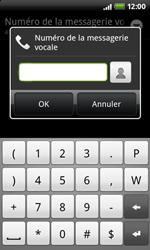 HTC S510e Desire S - Messagerie vocale - configuration manuelle - Étape 8