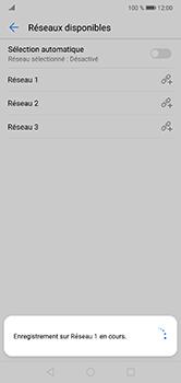 Huawei P20 Lite - Réseau - Sélection manuelle du réseau - Étape 10