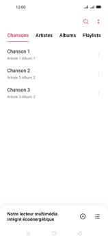 Oppo A72 - Photos, vidéos, musique - Ecouter de la musique - Étape 5