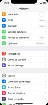 Apple iPhone X - Internet et connexion - Utiliser le mode modem par USB - Étape 3