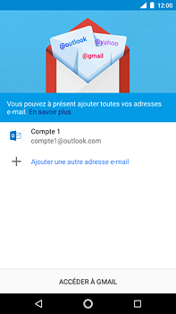 Nokia 6 (2018) - E-mail - Configuration manuelle (outlook) - Étape 12
