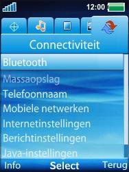 Sony Ericsson W100i Spiro - Bluetooth - headset, carkit verbinding - Stap 4