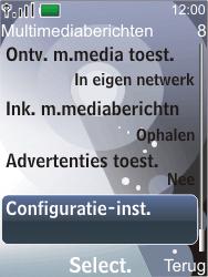 Nokia 7210 supernova - MMS - Automatisch instellen - Stap 10