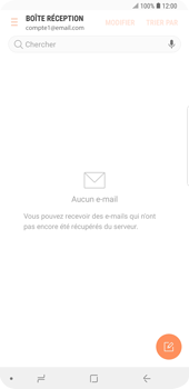 Samsung Galaxy S9 Plus - E-mail - Configurer l