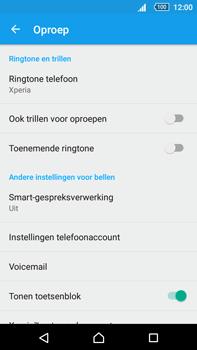 Sony Xperia Z5 Premium (E6853) - voicemail - handmatig instellen - stap 5