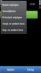 Nokia N8-00 - MMS - handmatig instellen - Stap 19