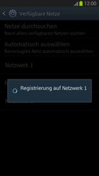 Samsung Galaxy S III - Netzwerk - Manuelle Netzwerkwahl - Schritt 10