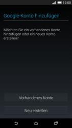 HTC One Mini 2 - Apps - Konto anlegen und einrichten - 0 / 0
