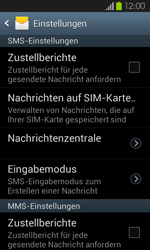 Samsung Galaxy S2 mit Android 4.1 - SMS - Manuelle Konfiguration - 6 / 9