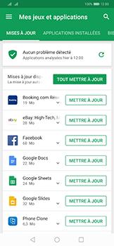 Huawei Mate 20 Pro - Applications - comment vérifier si des mises à jour sont disponibles pour l'appli - Étape 5