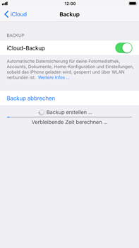 Apple iPhone 8 Plus - Software - iCloud synchronisieren - 8 / 10