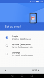 Huawei P9 - E-mail - Manual configuration (gmail) - Step 8