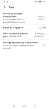 Huawei Y6P - Internet et connexion - Utiliser le mode modem par USB - Étape 6