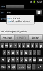 Samsung I8160 Galaxy Ace 2 - E-Mail - E-Mail versenden - Schritt 6
