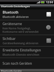 HTC A3333 Wildfire - Bluetooth - Geräte koppeln - Schritt 8
