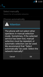 Wiko jimmy - Network - Manual network selection - Step 8