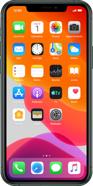 Apple iPhone 11 Pro Max - Applications - Créer un compte - Étape 1