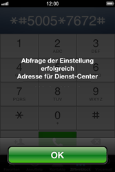 Apple iPhone 4 - SMS - Manuelle Konfiguration - Schritt 5