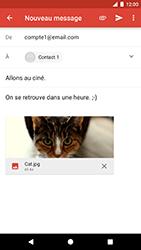 Google Pixel - E-mail - Envoi d
