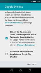 Huawei P8 Lite - Apps - Konto anlegen und einrichten - 15 / 19