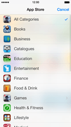 Apple iPhone 5 iOS 7 - Applications - Installing applications - Step 5