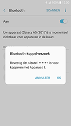 Samsung Galaxy A5 (2017) - Android Marshmallow - bluetooth - headset, carkit verbinding - stap 8