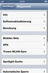 Apple iPhone 4 - Internet - Manuelle Konfiguration - Schritt 4
