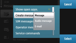 Nokia N97 - MMS - Sending pictures - Step 5