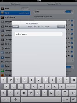 Apple iPad 4th generation - Wifi - configuration manuelle - Étape 5