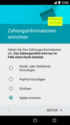Motorola Moto G 3rd Gen. (2015) - Apps - Konto anlegen und einrichten - Schritt 16