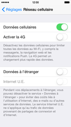 Apple iPhone 5s - iOS 8 - Internet et roaming de données - Configuration manuelle - Étape 5