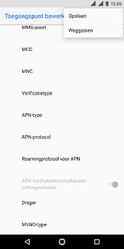 Nokia 5.1 - Internet - handmatig instellen - Stap 18