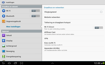 Samsung N8000 Galaxy Note 10-1 - Internet - aan- of uitzetten - Stap 5