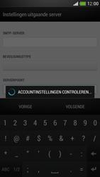 HTC One Mini - E-mail - Account instellen (IMAP zonder SMTP-verificatie) - Stap 17