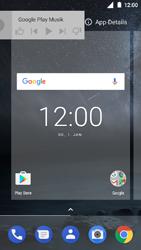 Nokia 3 - Startanleitung - Installieren von Widgets und Apps auf der Startseite - Schritt 7