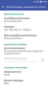 HTC U11 (2PZC100) - E-mail - Instellingen KPNMail controleren - Stap 10