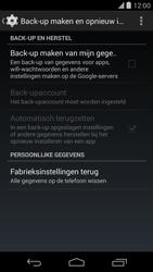 LG Google Nexus 5 - Instellingen aanpassen - Fabrieksinstellingen terugzetten - Stap 5