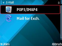 Nokia E71 - E-Mail - Konto einrichten - Schritt 15